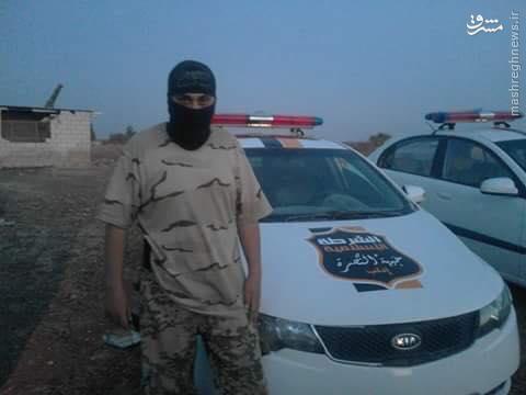 یگان پلیس القاعده در ادلب+تصاویر