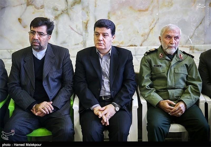 سردارهمدانی درکنار مفقود منا +عکس