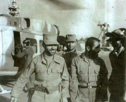 عکس/ سردار همدانی در کنار شهید صیاد شیرازی