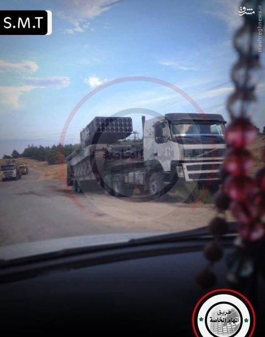 عکس/ راکت انداز مخوف روسی در سوریه