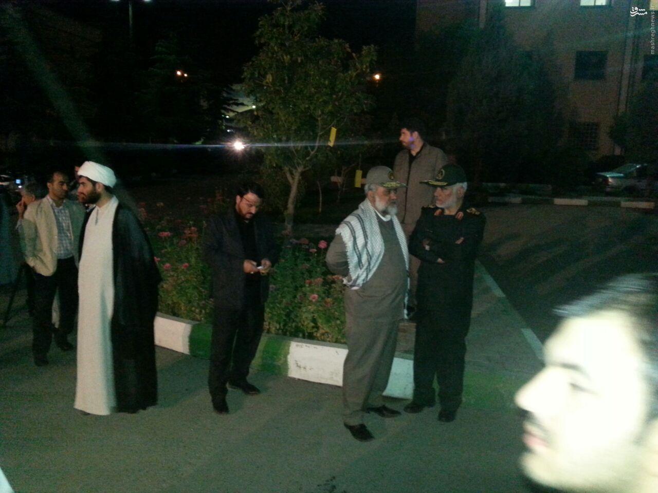 ورود پیکر مطهر شهید همدانی به فرودگاه مهرآباد+تصاویر