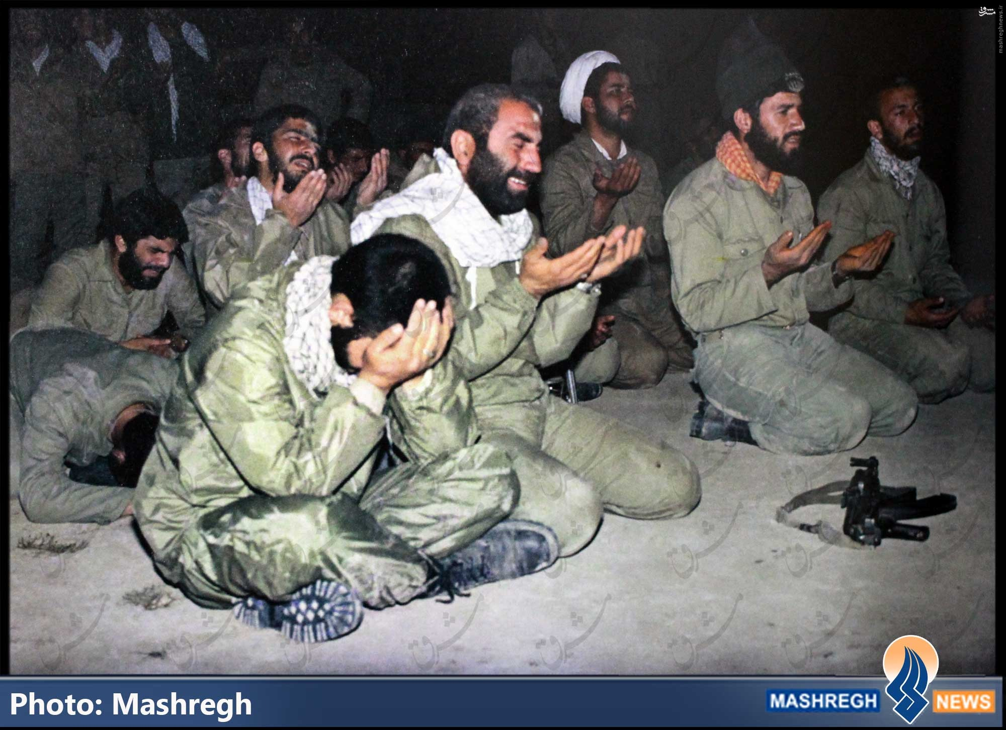 عکس/ جایی که «حسین همدانی» به زانو درآمد
