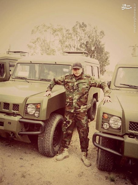 عکس/ حضور خودروی تاکتیکی چینی در سوریه