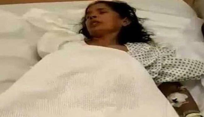 قطع دست خدمتکار زن هندی در عربستان