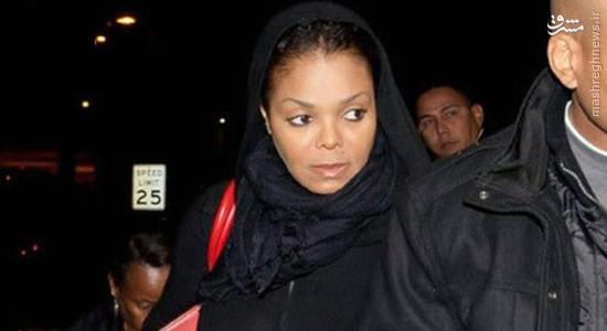 خواهر مایکل جکسون مسلمان شد؟ +عکس