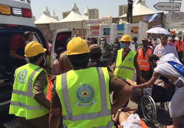 220 کشته و 450 مصدوم در ازدحام حجاج در منا/ اوحدی: دولت سعودی توان مدیریت اوضاع را ندارد/12 ایرانی در میان کشتهشدگان رمی جمرات+تصاویر