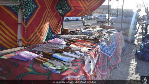 بازار داعش برای عید قربان در سرت لیبی+تصاویر