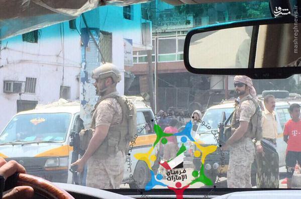 فرزند ولیعهد ابوظبی در یمن+تصاویر