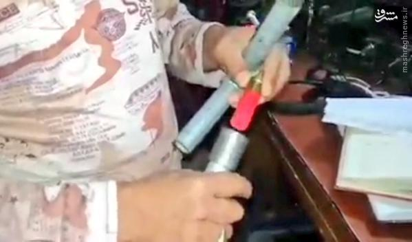 کشف سلاح دست ساز از تروریستها داعش+تصاویر