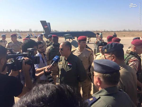 عکس/ پهپاد مسلح چینی برای ارتش عراق