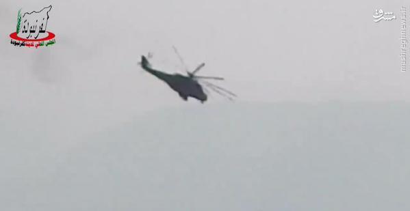 عملیات بالگردهای روسی علیه مواضع تروریستها در شمال حماه+عکس و فیلم
