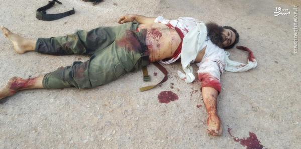 هلاکت امیر القاعده در درعا+تصاویر