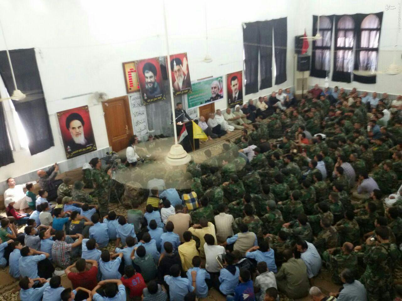بزرگداشت سردار شهید همدانی در نبل و الزهراء حلب+تصاویر