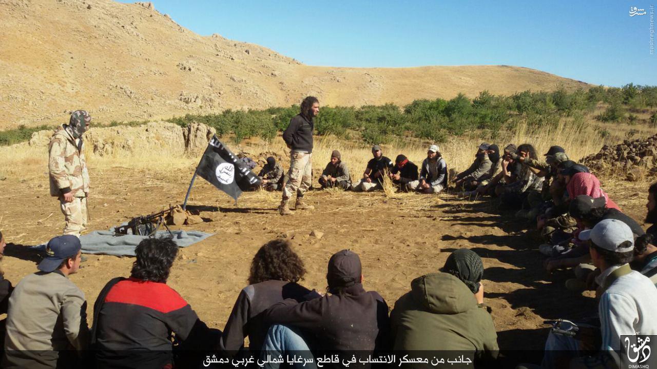 اردوگاه داعش در شمال زبدانی+تصاویر