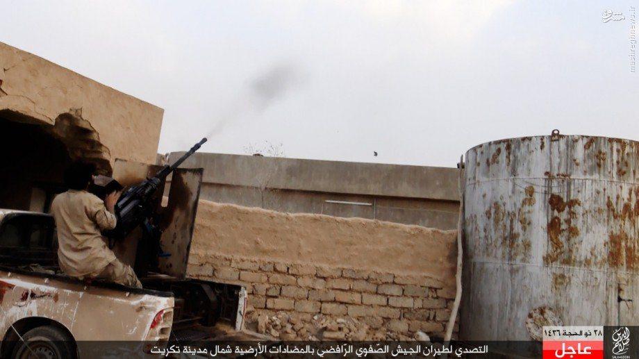 حمله داعش به شمال تکریت+تصاویر