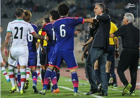 عکس/ زشتترین صحنه بازی ایران و ژاپن