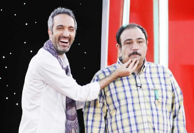 دانلود فینال مسابقه بهترین خنداننده - اجرای مشترک مهران غفوریان و امیر مهدی ژوله -خندوانه 21 مهر 94