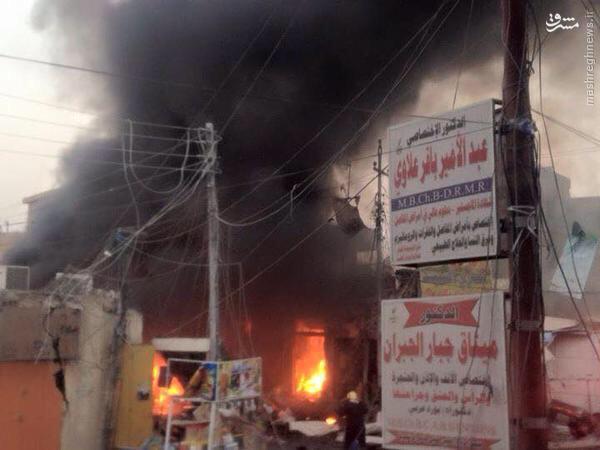 دستگیری عامل انفجار تروریستی در زبیر بصره+تصاویر