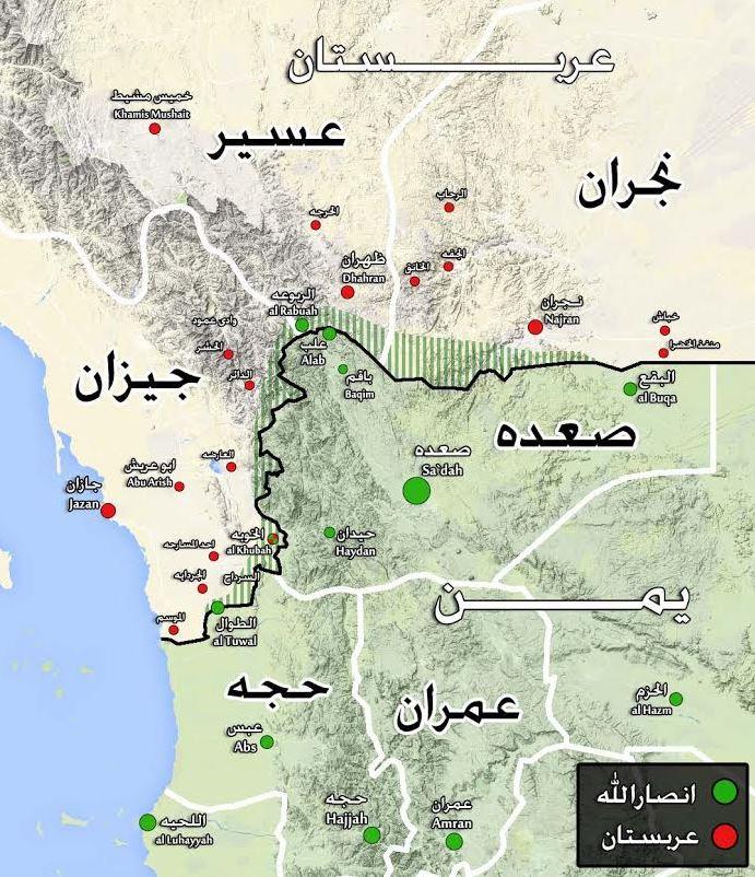 نیروهای یمنی چگونه استانهای عربستان را تصرف میکنند؟/ ارتش چریکی درصدد تصرف بندر مهم عربستان