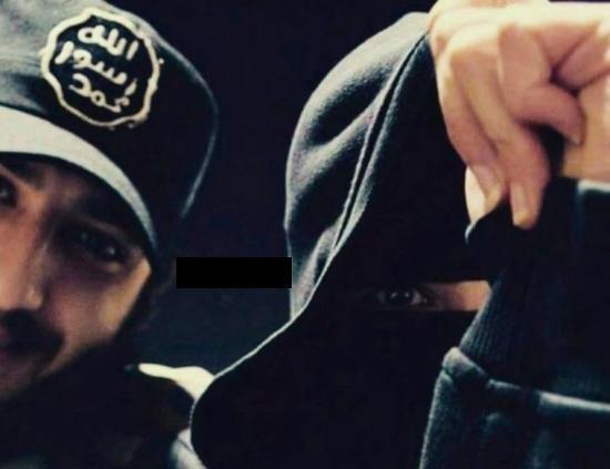 انتشار سلفی های زنان داعشی + تصاویر