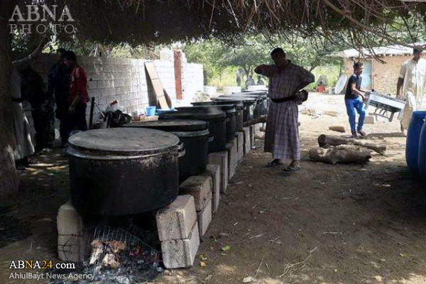 ایستگاههای طبخ غذای اهلسنت عراق برای حشد شعبی + عکس