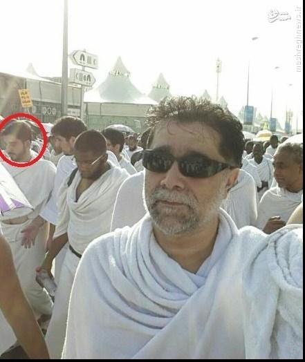 عکس/ حسن دانش چند دقیقه قبل از شهادت در منا