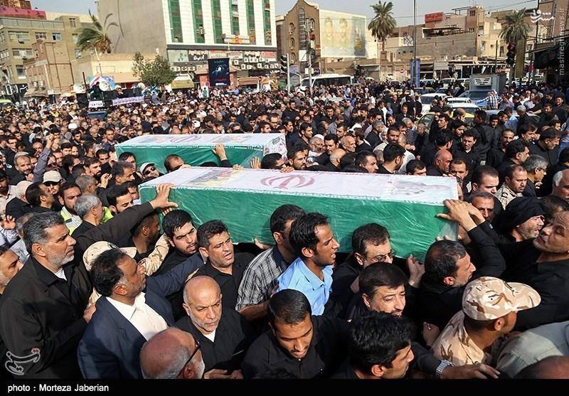 عکس های شهدای امروز در اهواز