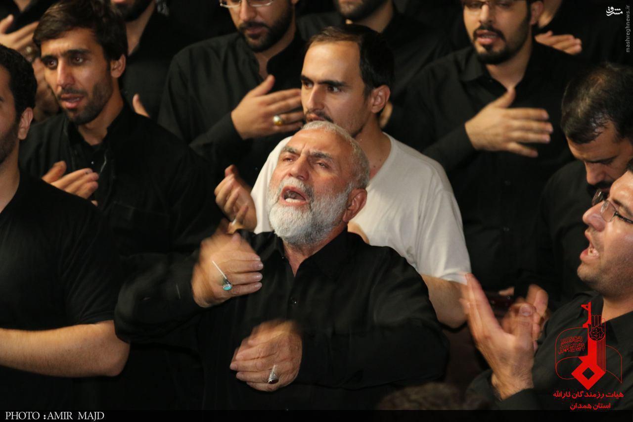 عکس/ وقتی حسین همدانی میاندار بود