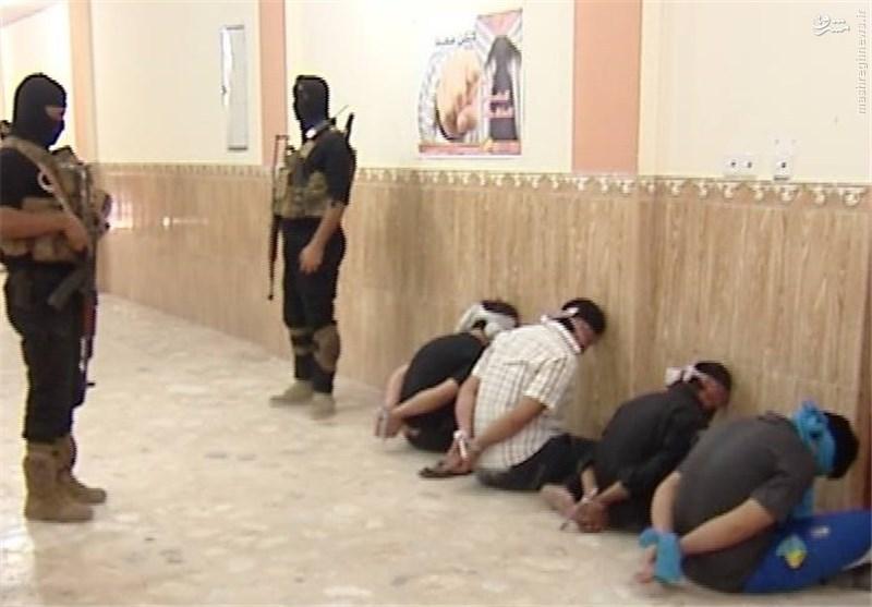 متلاشی شدن یک هسته تروریستی در نجف اشرف +عکس