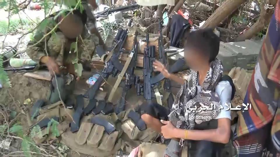 عکس/ غنیمت ویژه یمنی ها از ارتش سعودی