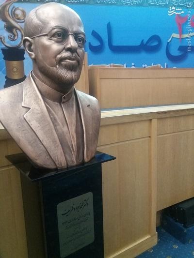 مجسمه ظریف رونمایی شد +عکس