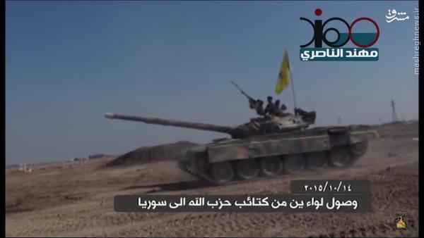 ورود دو تیپ حزب الله عراق به سوریه+عکس و فیلم