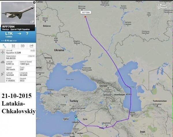 نحوه پرواز مخفیانه بشار اسد از لاذقیه به مسکو