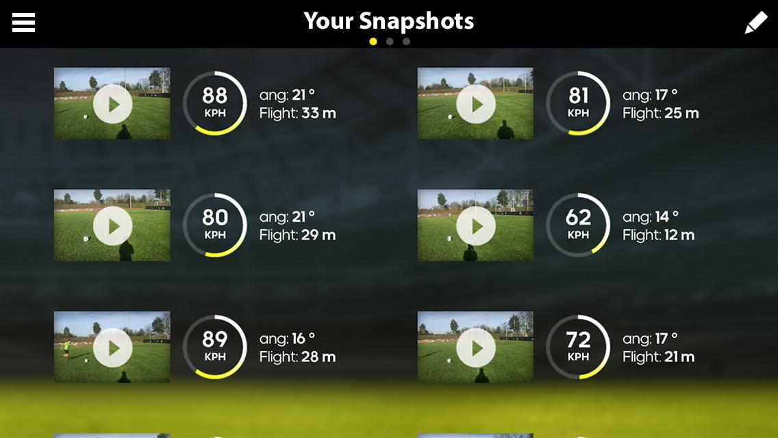 Snapshot نام اپلیکیشن اختصاصی آدیداس برای بهبود بازی فوتبال شماست