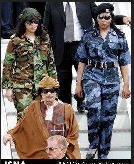 زنان محافظ قذافی،از بهشت سرهنگ تا سرنوشتهایی نامعلوم