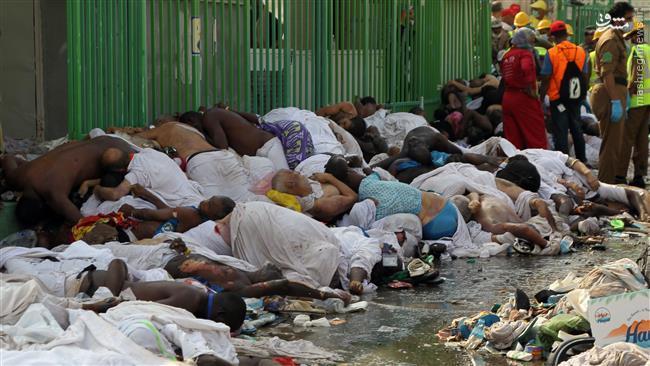 بسیاری از حجاج در اثر تشنگی جان دادند/ سعودیها مقابل اجساد میخندیدند