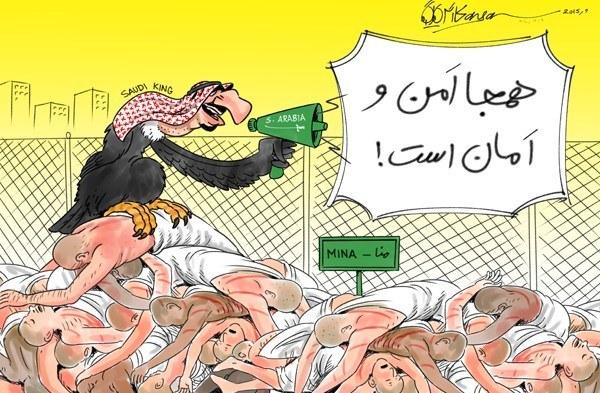 کاریکاتور/ ملکسلمان: همهجا امن و امان است