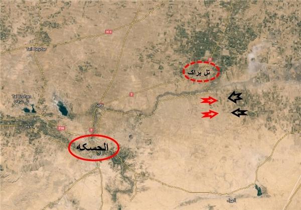 عقبنشینی داعش از شرق «الحسکه»