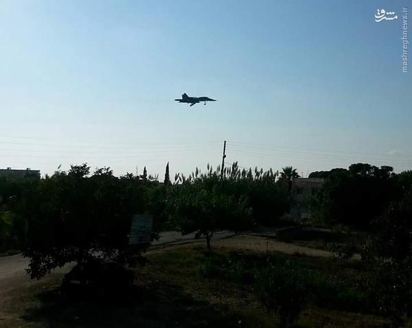 عکس/ جنگنده سوخوی 34 وارد سوریه شد