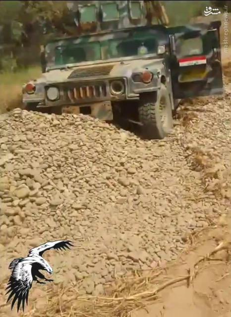 کشف خودروی انتحاری داعش در بیجی+عکس و فیلم