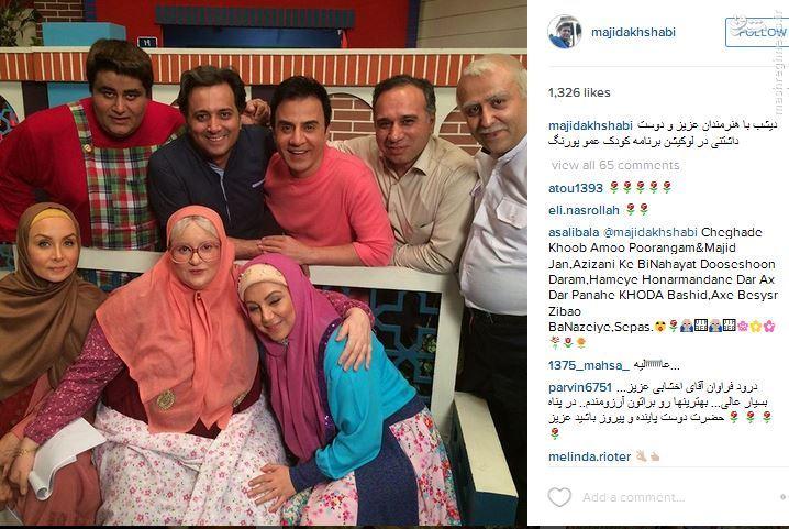 عکس/ میهمان ویژه محله گل و بلبل عموپورنگ
