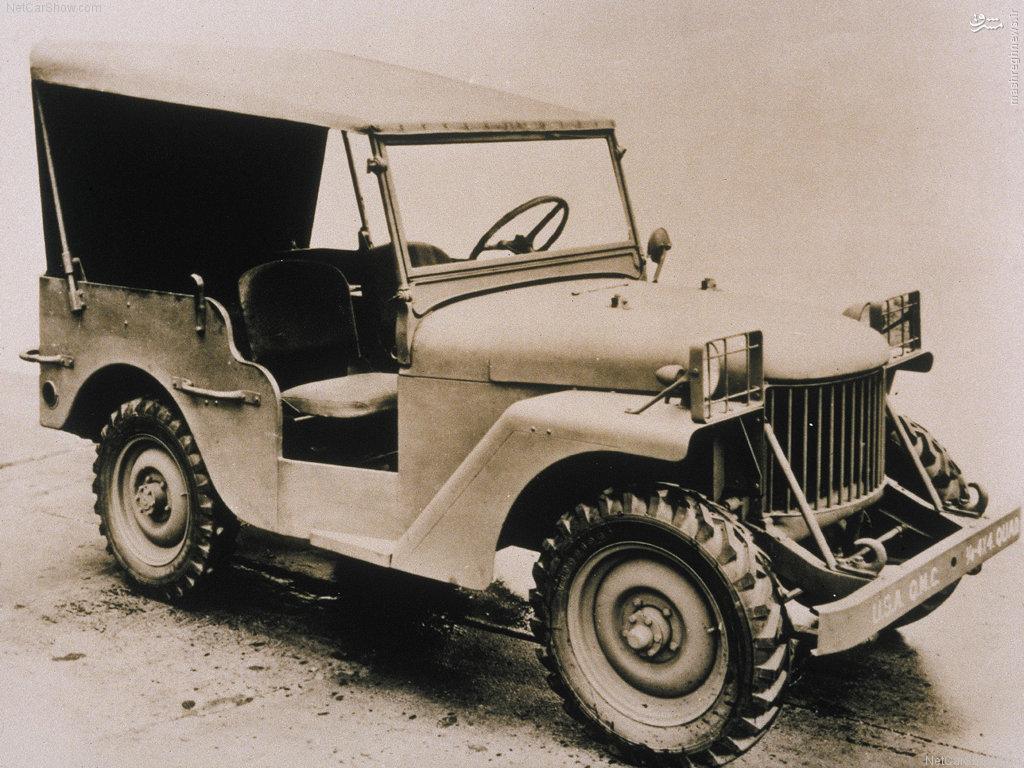 عکس/ اولین خودروی جیپ