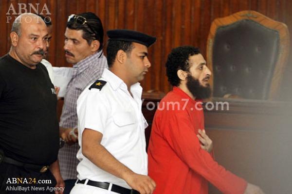 حکم اعدام برای خطرناکترین تروریست مصر+عکس