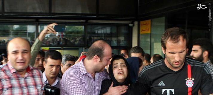 عکس/ خانواده داغدار مرحوم هادی نوروزی