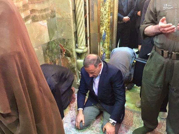بازدید وزیر دفاع عراق از نجف