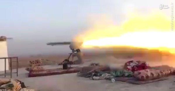 شکار داعشی با کورنت در سامراء+عکس و فیلم