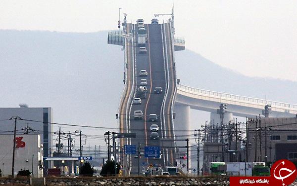 پرشیب ترین جاده جهان درکشور چین+عکس