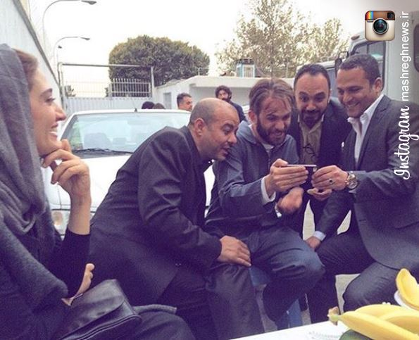 عکس/ بابك حميديان و سعيد آقاخانى و حسين يارى در یک قاب اینستاگرامی