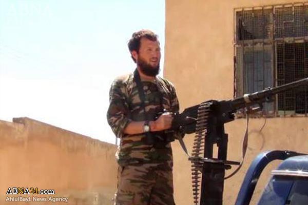 هلاکت تروریستی چینی در «حماه» سوریه+عکس