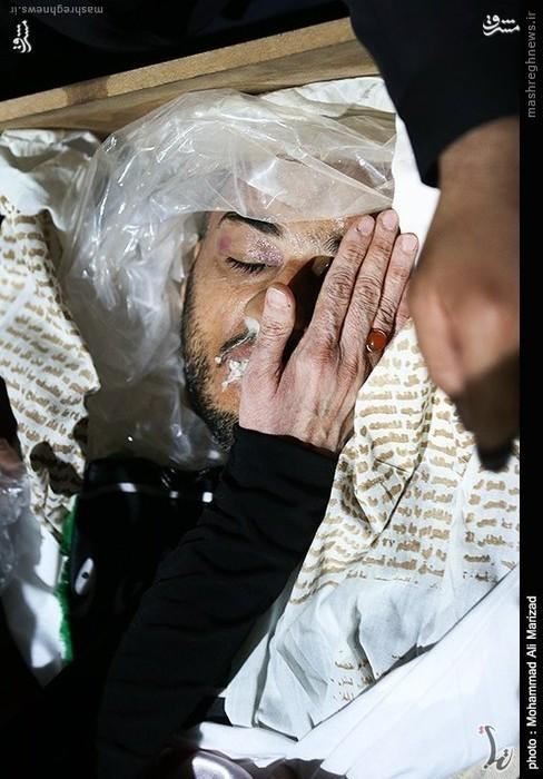 آخرین نامه محافظ شهید احمدی نژاد به دخترانش+تصویر